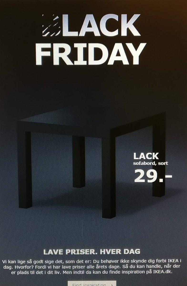 sofabord black friday