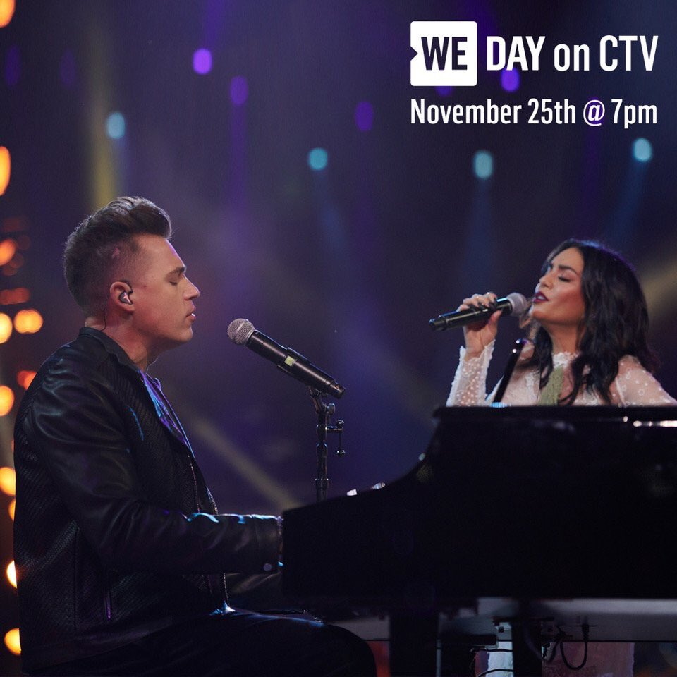 Tune in to CTV tomorrow at 7pm EST to watch @VanessaHudgens and I perform #RemindingMe at #WEDay! @WEMovement<br>http://pic.twitter.com/CeIHfnfJZz