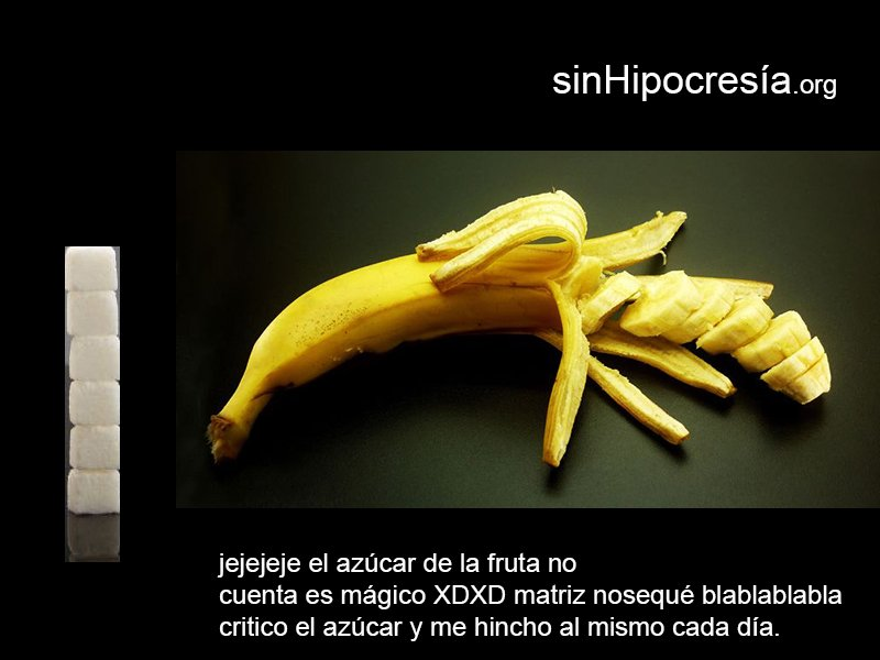 La fruta del azúcar sinazucar.org