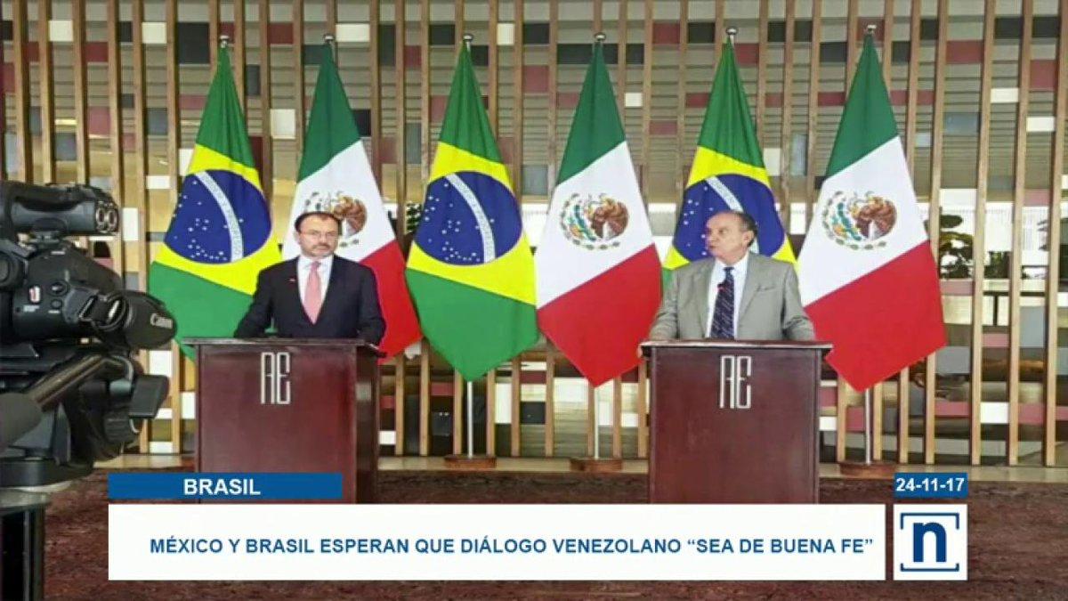 #México y #Brasil esperan que el diálogo...