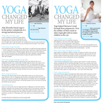 Has #yoga changed your life? If so, we'd like to hear from your for our monthly column. Email martin@ommagazine.com #omyogamagazine