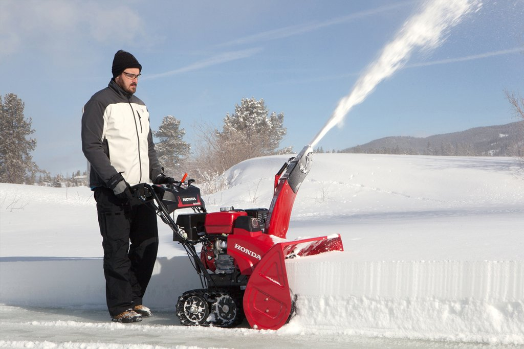 throwers single snowblowers honda landing blowers snow stage and