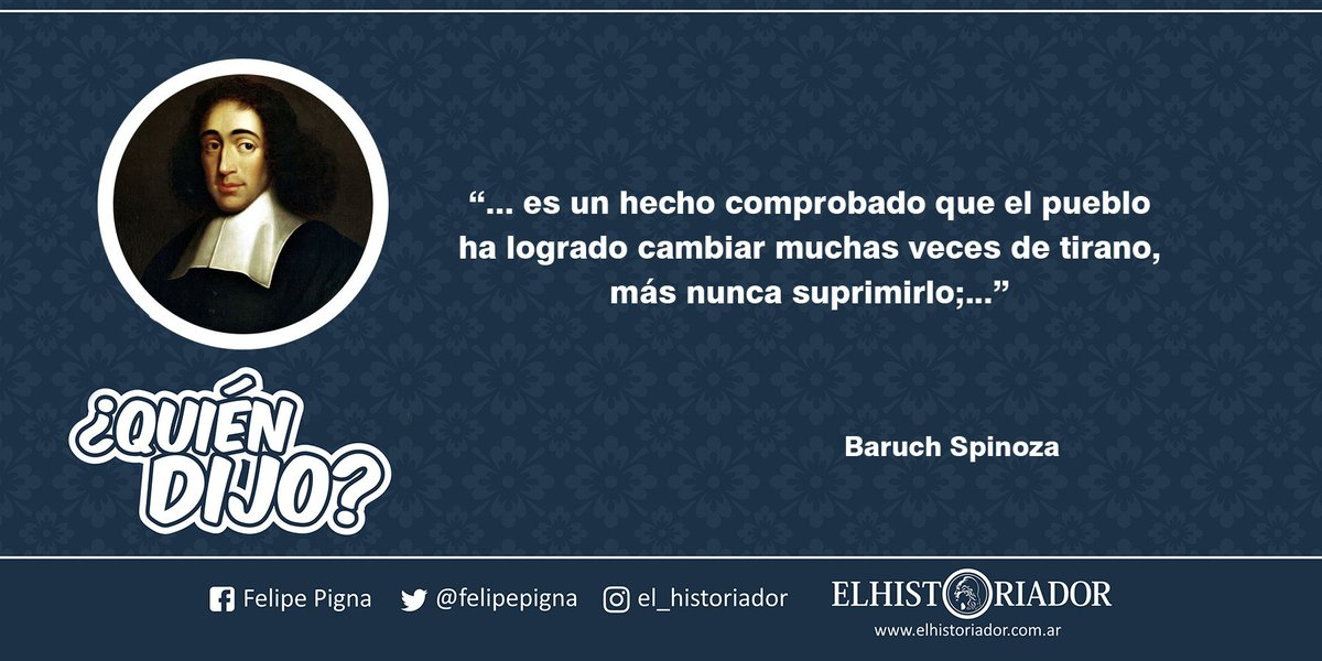 Felipe Pigna Auf Twitter Quiendijo La Frase Es Un