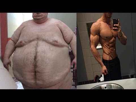 FAT To Fit Muscle Amzaing Fitness Motiva...