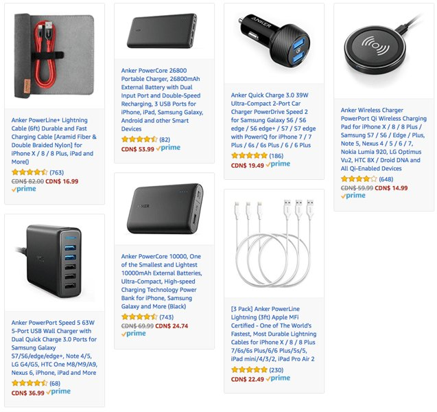 Iphone In Canada On Twitter Anker Black Friday Deals Save Up To 27 On Battery Packs Wireless Chargers And More Https T Co Ap9fp59q6j