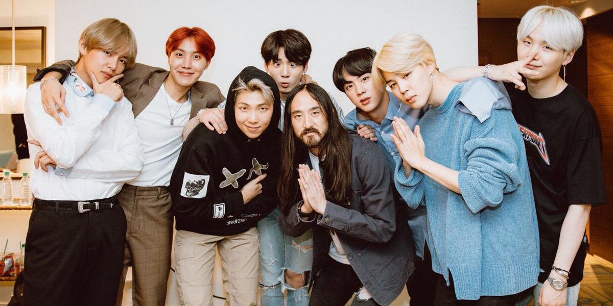BTS just became the first K-pop group to reach No. 1 on U.S. iTunes chart: https://t.co/VtnWvxGtb1