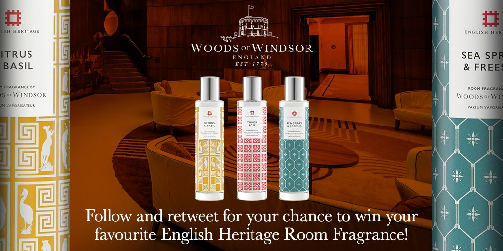 Follow &amp; RT for a chance to #win your favourite @EnglishHeritage Room Fragrance. #FreebieFriday #bbloggers #competition #giveaway<br>http://pic.twitter.com/gyy7K1zwZz