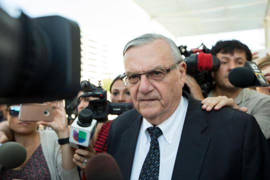 He'll need a new pardon.  Sheriff #Arpaio  pursued case to hurt Sen. Flake, lawsuit says:  https:// apnews.com/050dfb9577e041 f0b2a25b5e439cdb60   …  (from @AP)pic.twitter.com/M8nphiAjb6