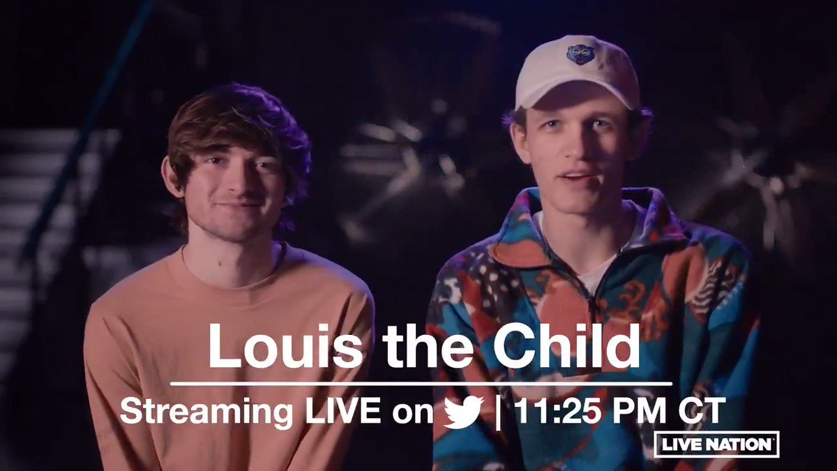Post-Thanksgiving plans? Party on your couch w/ @LouistheChild's concert streaming live TONIGHT @ 11:25pm CT @ https://t.co/AavdCGyUdX