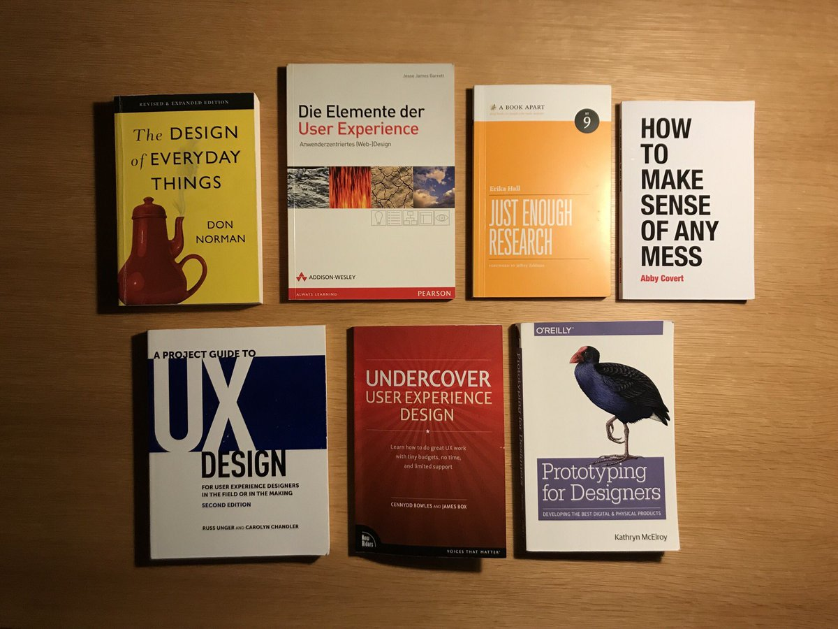 Matthias Ott On Twitter I Really Enjoyed These Books The Second Is The German Translation Of Jjg S The Elements Of User Experience Https T Co Unrvzh2u4v