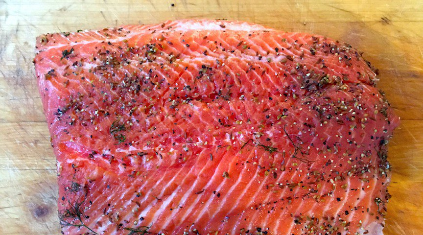 If I were a dead Salmon, I'd want to be Gravlax