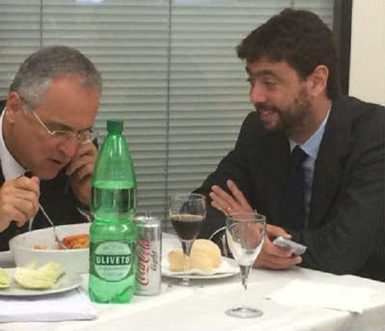 Lunedì la partita per il presidente della Lega A: Agnelli contro Lotito - https://t.co/tZNhERZzVI #blogsicilianotizie #todaysport
