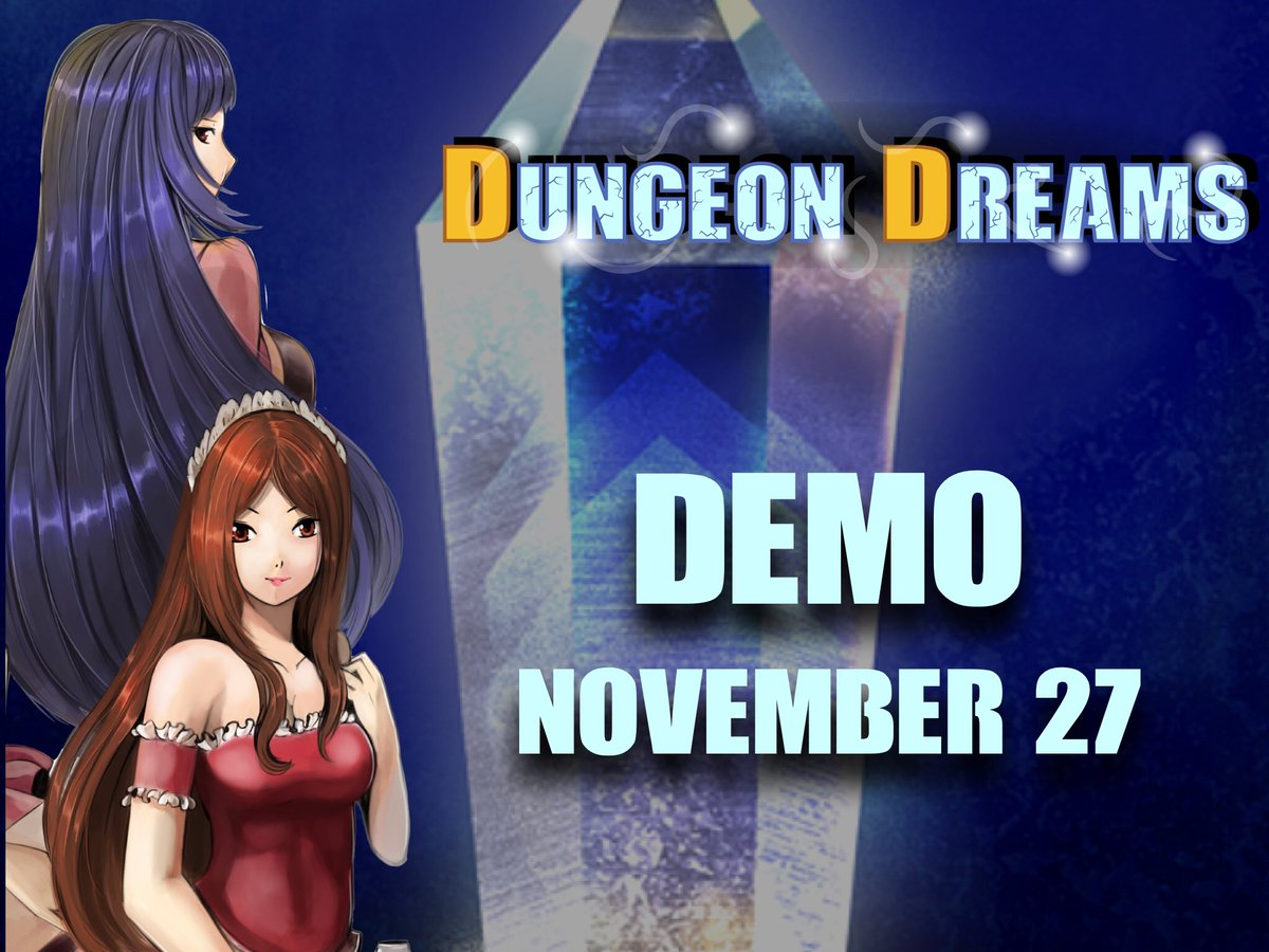 Dungeon Dreams #demo #out soon! #free #download starting Monday! #indiegame #indie #rpg #game #indiegamedev #gamedev #gameplay #dungeondreamsrpg #betatest #alpha please #review and contact for any #info<br>http://pic.twitter.com/DoUxLl7Piy