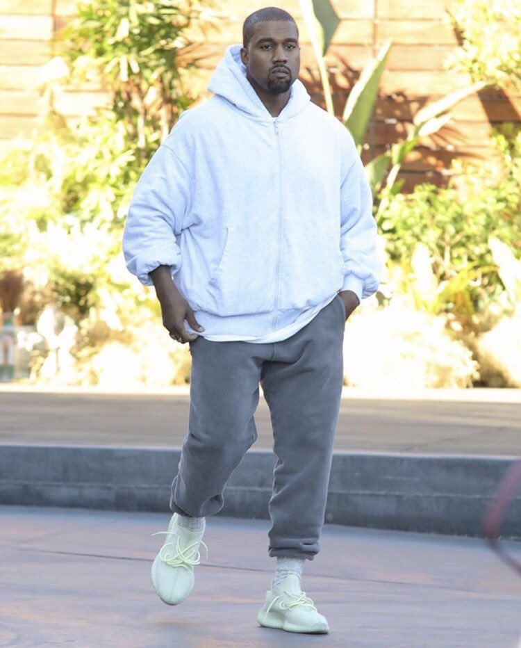 598605989b4d solewatch  kanye west spotted in new adidas yeezy 350 boost v2s ...