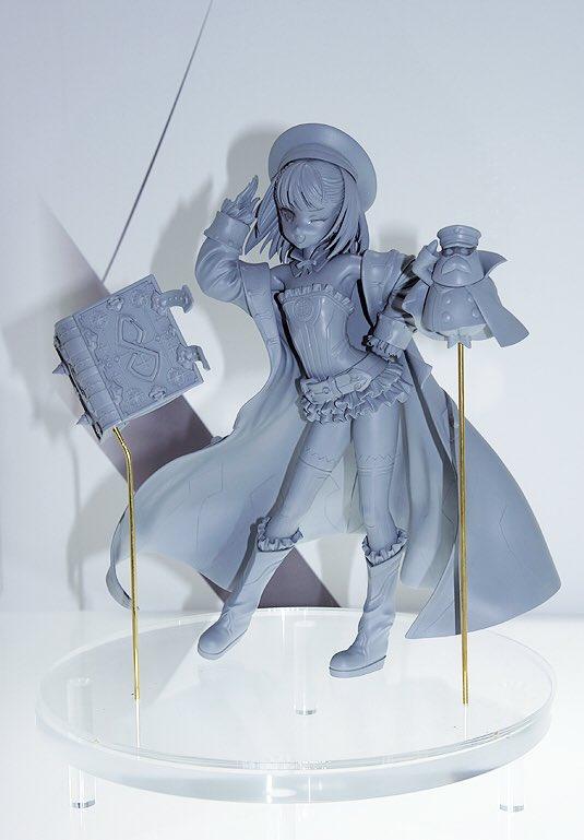 AMAKUNIブランドから『Fate/Grand Order』より、鋭意開発中の「キャスター/エレナ・ブラヴァツキー」原型を展示中です! 彩色サンプルの仕上がりにもご期待ください。 #メガホビEXPO #FGO #FateGO