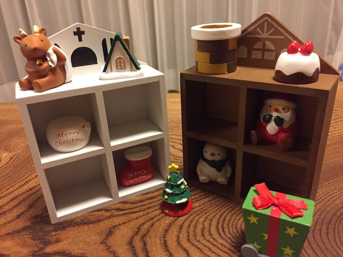 test ツイッターメディア - セリアでクリスマスの可愛い置物買ってきた。 こじんまりしててあまり場所取らないし、いい感じ♪ 100均の中にも探してみると意外と役立つ品が結構あるね (?>???)  #セリア  #クリスマスグッズ #100均 #くうねるばにさん https://t.co/Xdk2dRYMTf