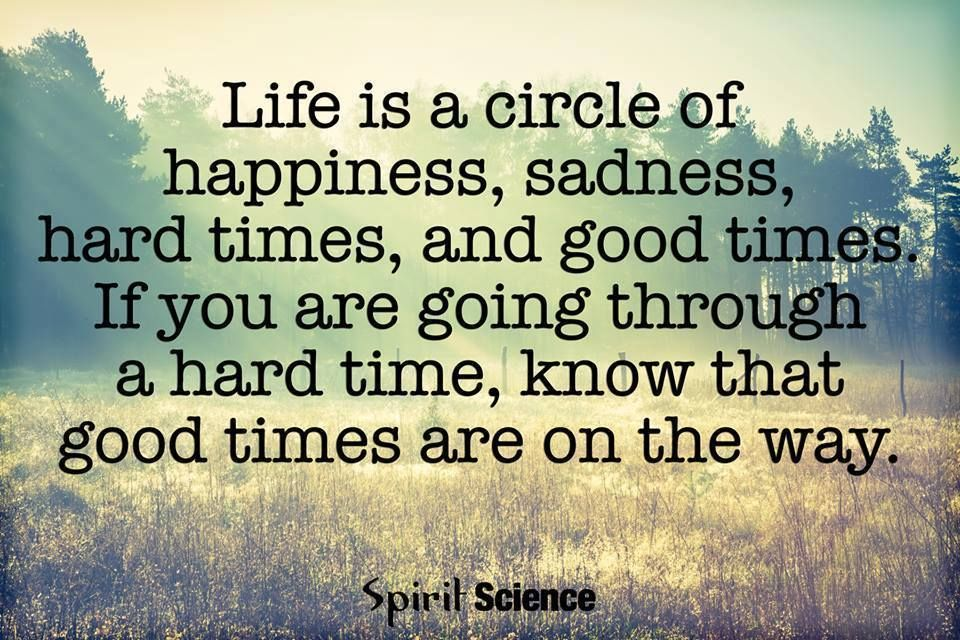 Inspirational Quotes On Twitter Life Is A Circle Of Happiness