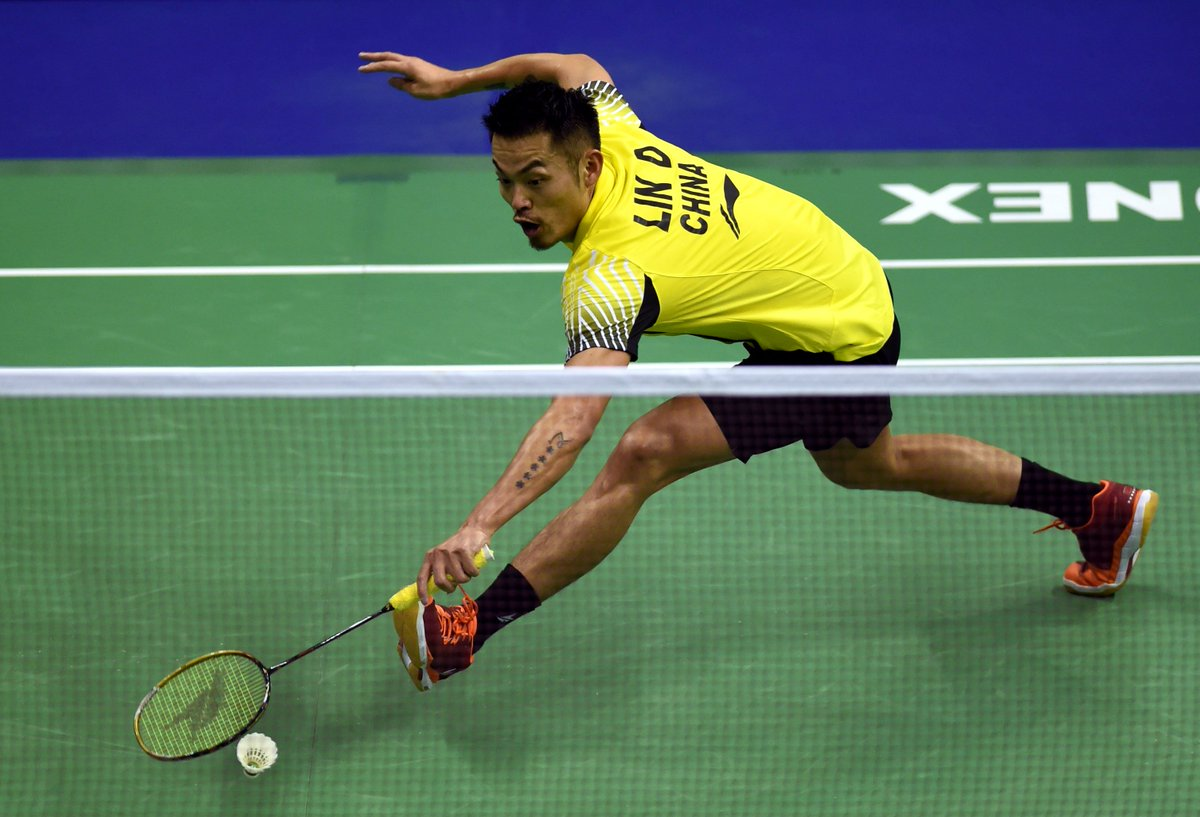 "Xinhua Sports on Twitter ""Former world no 1 Lin Dan was knocked"
