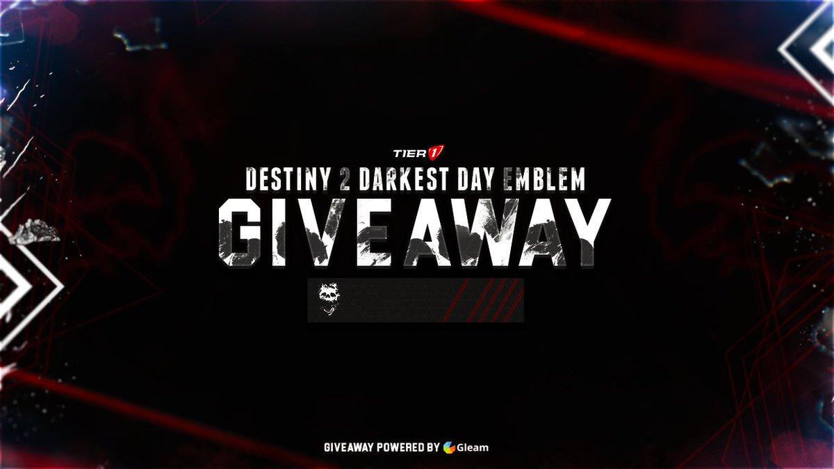 Destiny 2 giveaway gleam