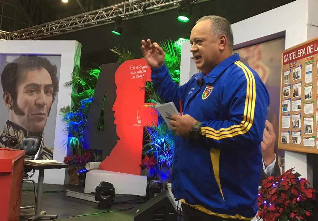 Cabello: ¡Las tormentas no han pasado! Nos van a seguir atacando y tenemos que vencer https://t.co/F7TcNXapNA #24Nov https://t.co/43f1FQtQNe