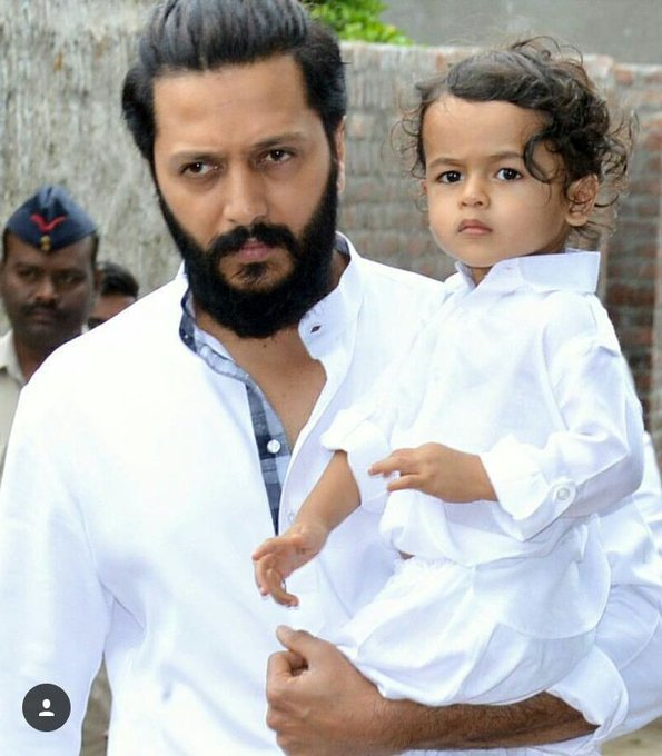 Happy birthday little prince riteish deshmukh