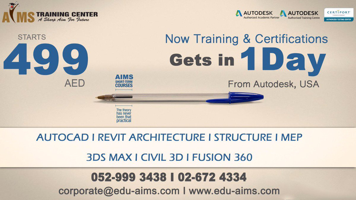 Aims Training Center On Twitter Accelerate Your Professional