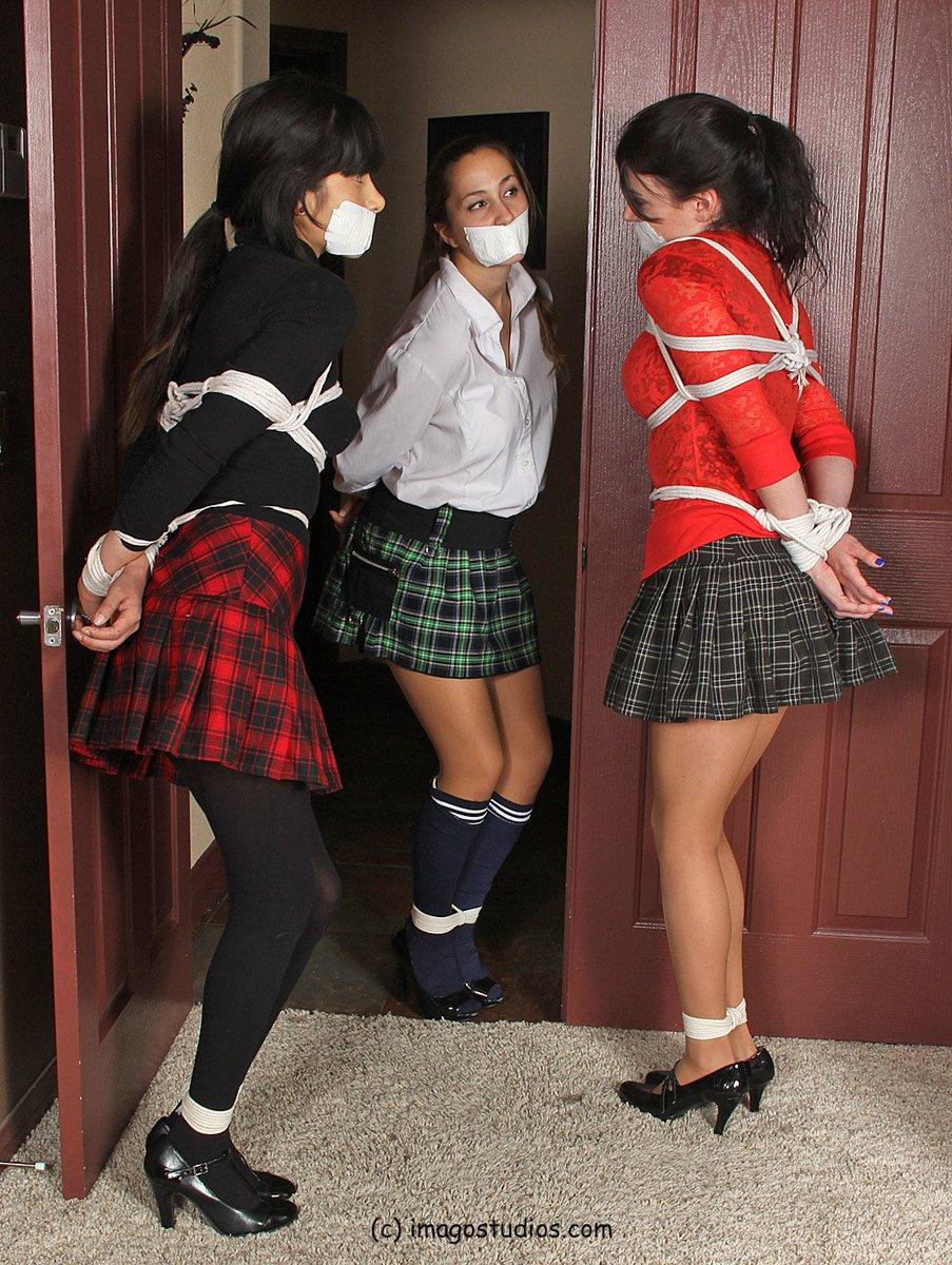 Nerdy lesbian schoolgirl takes revenge on her bully
