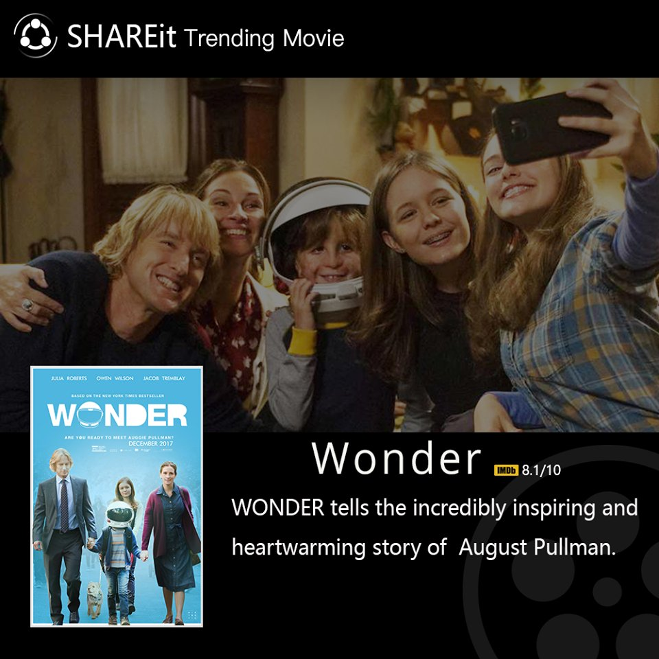 #SHAREmovie #HappySaturday Wonder- an amazing story of a boy and his journey of life. Trailer:  https://www. youtube.com/watch?v=ngiK1g QKgK8 &nbsp; … <br>http://pic.twitter.com/Nhjsbf7qVb