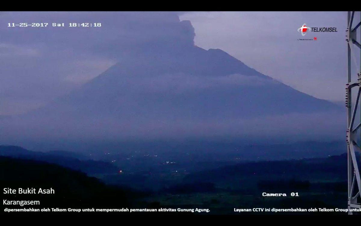 【アグン山】インドネシア、噴火の恐れ。: 火山監 …