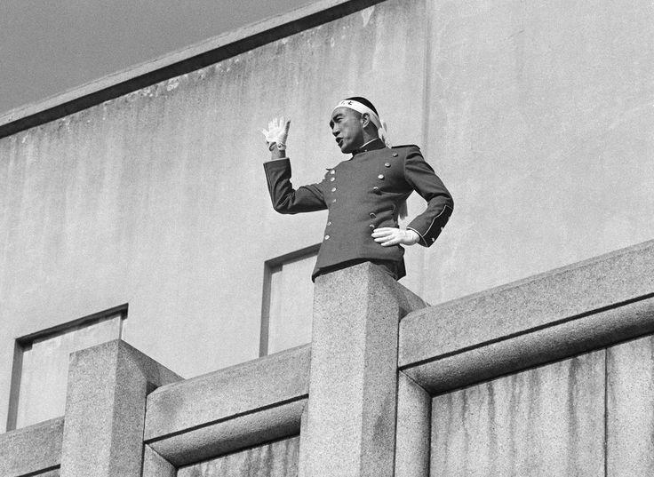 "J.WH on Twitter: ""1970年、昭和45年11月25日 三島事件 正午頃、作家 ..."