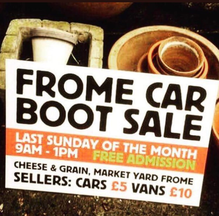 Frome Car Boot Sale