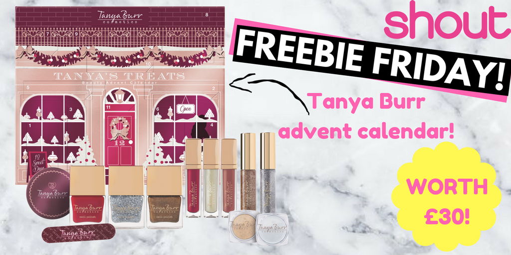 Make sure you enter our #FREEBIEFRIDAY for a @TBurrCosmetics advent calendar!💕 Winner announced 10am Monday — dont miss out!🎄❄️