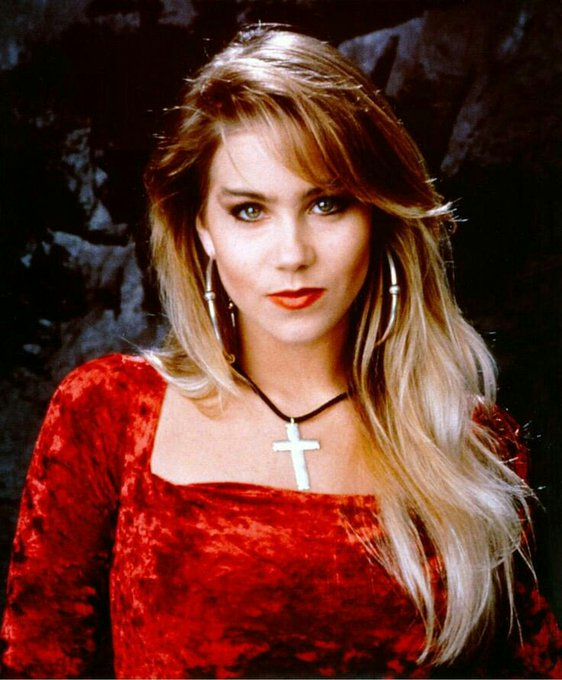 "Happy Birthday, Christina Applegate (aka \""Kelly Bundy\"") born November 25, 1971, in Hollywood, California."