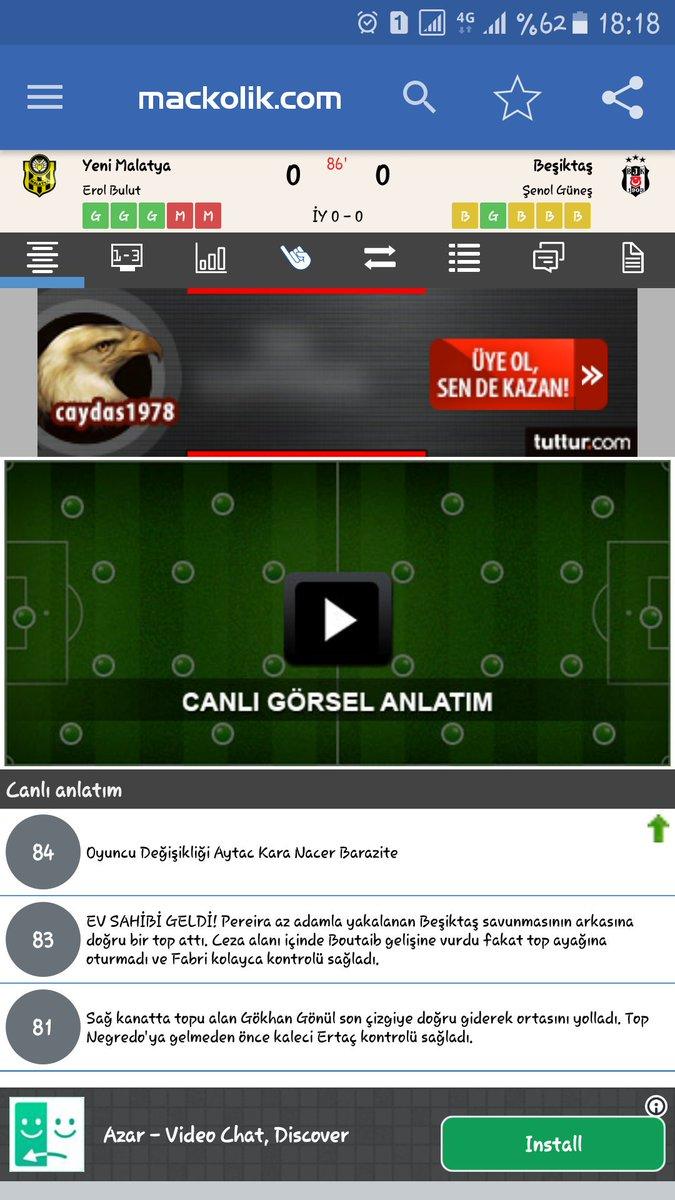 Beşiktaş gol atamamış hakemin müdahale etmesi bekleniyor. https://t.co/76pzvoxgnP