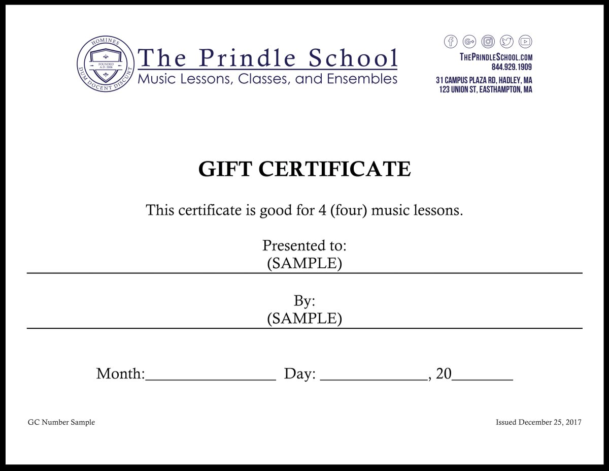 Music certificate templates image collections templates example gift certificate template music lessons gallery certificate adams gift certificate template gftlz financial reports templates gift yadclub Choice Image