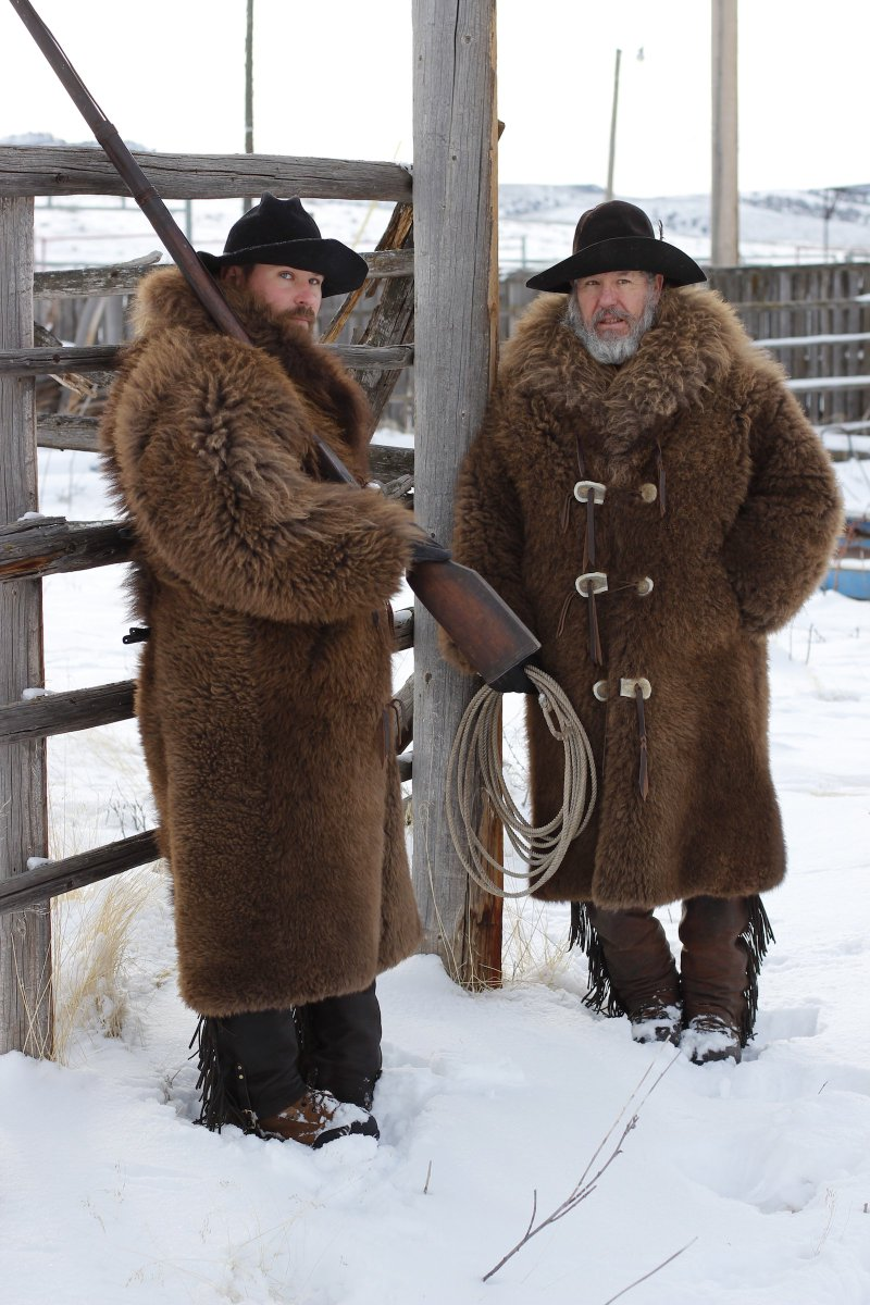 """Merlin's Hide out on Twitter: """"It's not hard looking good in these Buffalo  Coats.… """""""