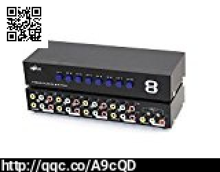 E-SDS 8-Way AV Switch RCA Switcher 8 In  https://t.co/PRzKDtE6P9 #E-SDS #8-Way #AV #Switch #RCA https://t.co/tXh71Vtk5V