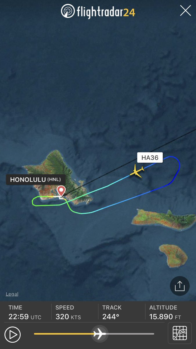 To Hnl Due An Issue With The Oil Filtration System On Friday