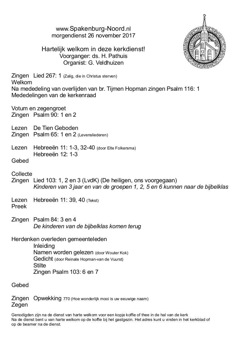 Uživatel Noorderkerk Na Twitteru Zondag 26 11