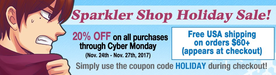 Sparkler monthly on twitter the mahou josei chimaka graphic novel complete your collection of all this fantastic stuff while the coupon code makes it cheap httpssparklermonthlyshopbookshotblood foundry art book fandeluxe Choice Image
