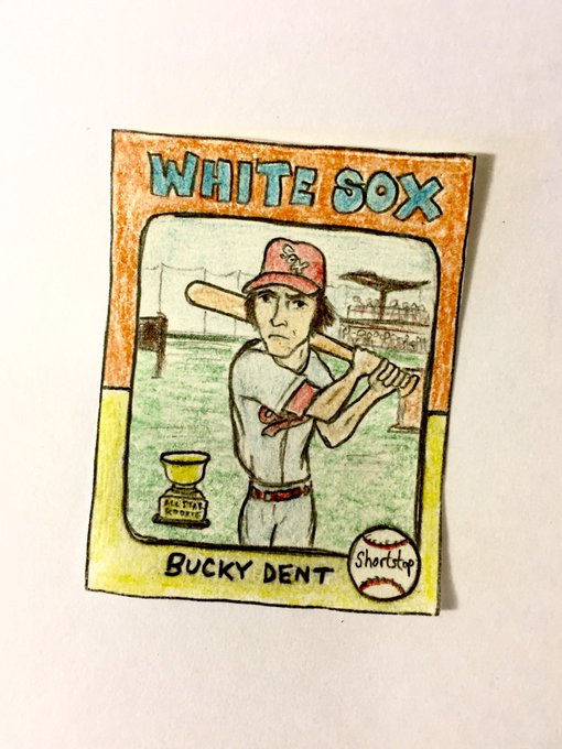 Wishing a happy 66th birthday to Bucky Dent!