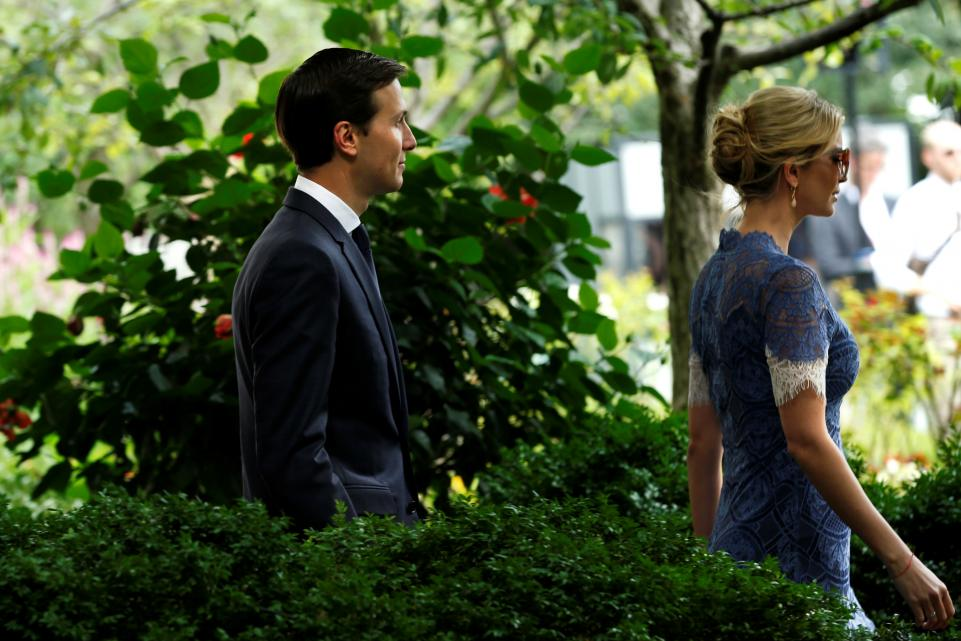 White House officials discuss Ivanka Trump and Jared Kushner departing by 2018: report https://t.co/nvu9mVcGYB https://t.co/cfI7ADugT7