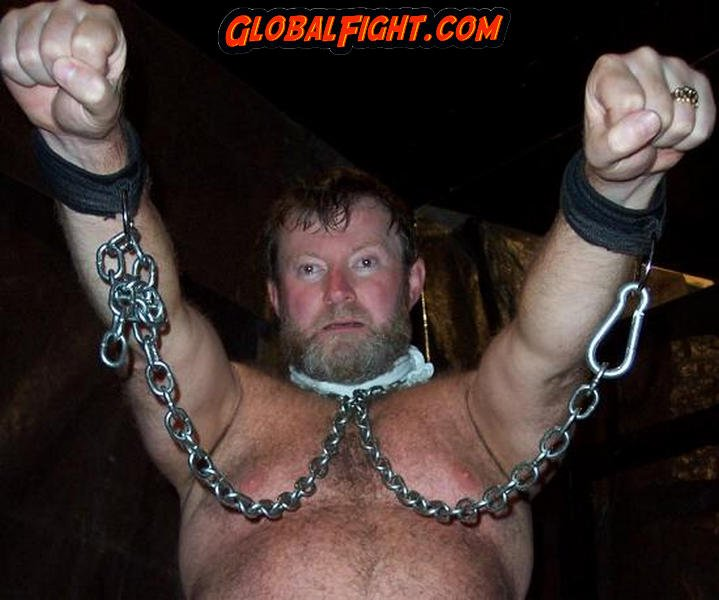 Gay handcuff bondage photos