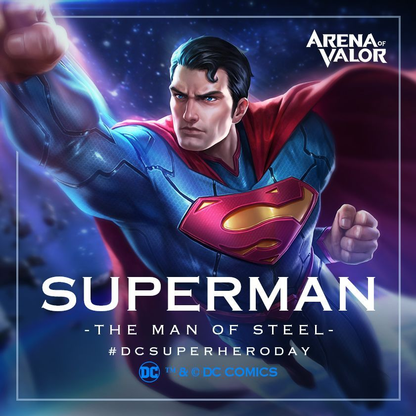 Arena Of Valor On Twitter Superman Has Arrived Only  Hours To Claim Superman For Free Dcsuperheroday Arenaofvalor Aov Https T Co Eyqwcunlb