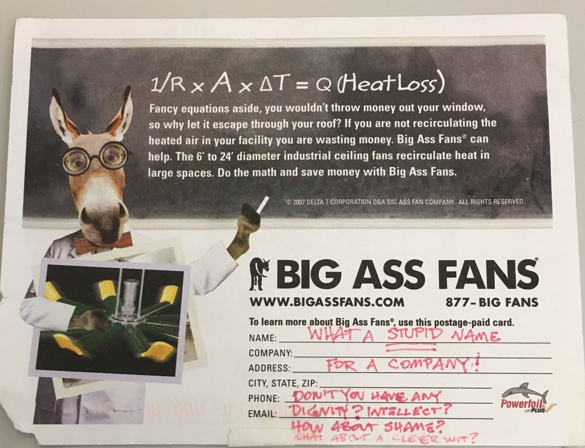 big ass fans (@bigassfans)   twitter