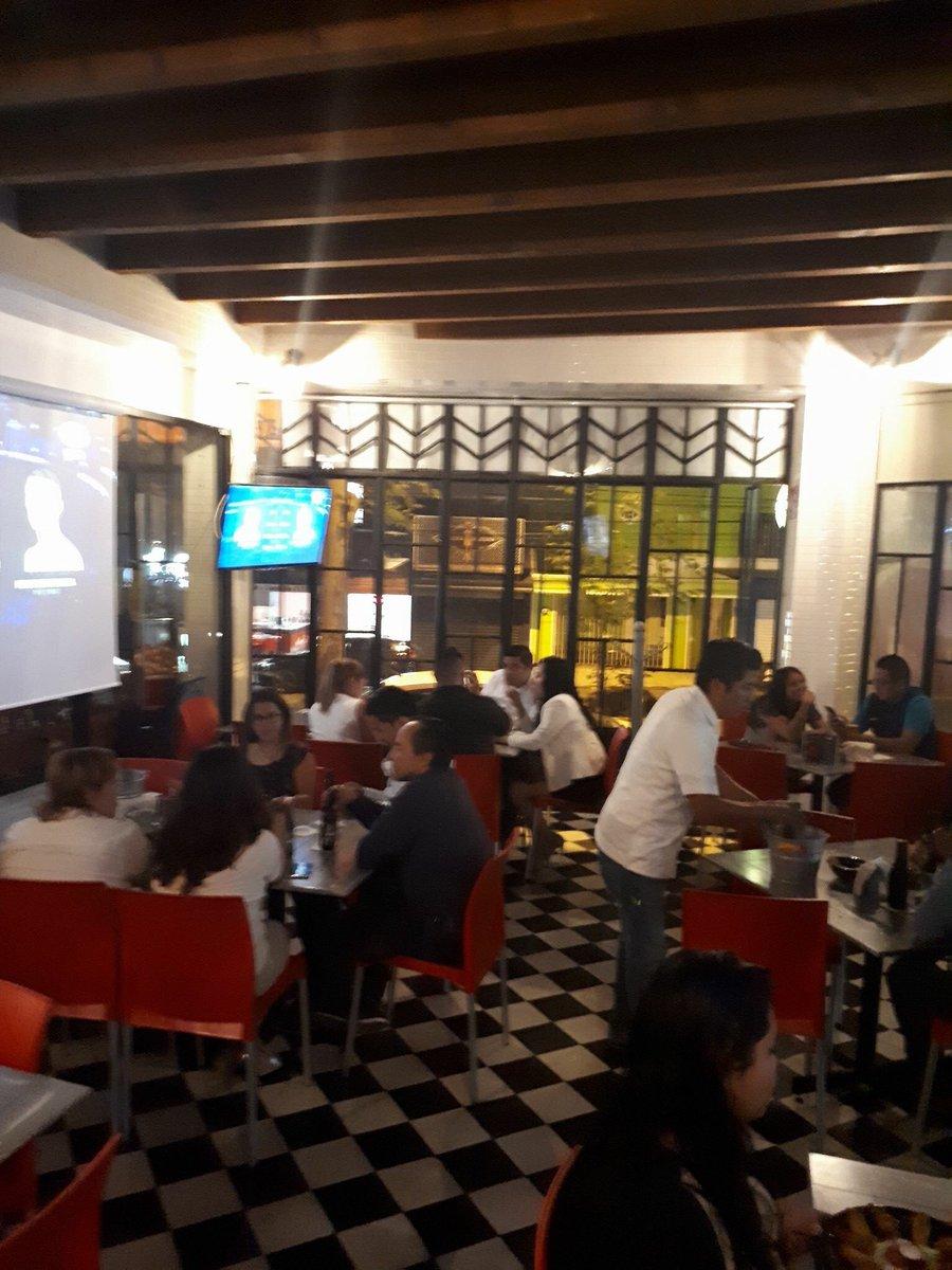 Restaurant Anzuelo Teatro в Twitter Qué Ambiente Nocturno