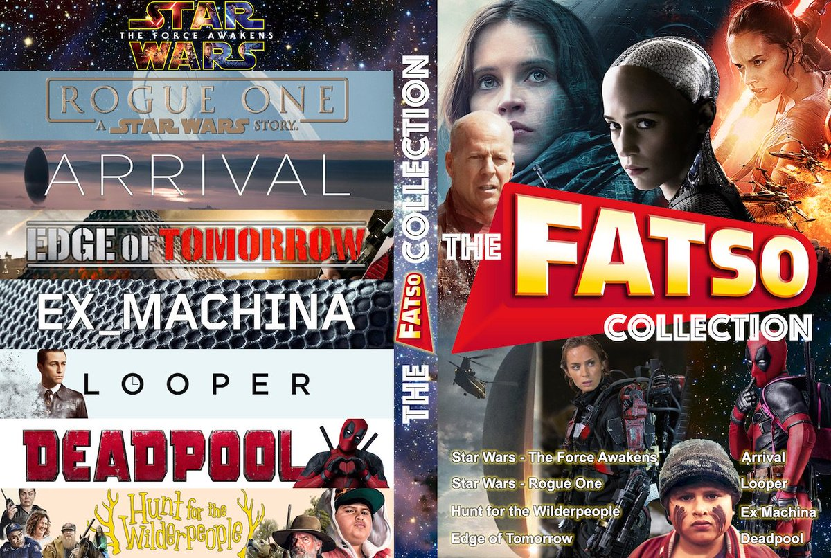 Weekend Photoshop project finished. My case cover for the @fatsoDVD movies I get to keep. Quite pleased how it came out! https://t.co/3QmETcQT7V