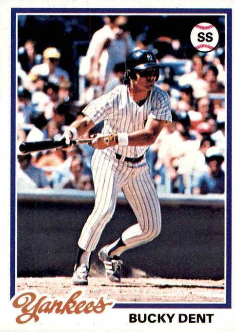 Happy birthday (66th) to Bucky Dent, one of the many huge figures in the rival.
