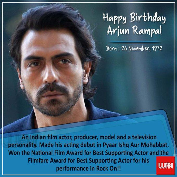 Wish you a very happy birthday Arjun Rampal