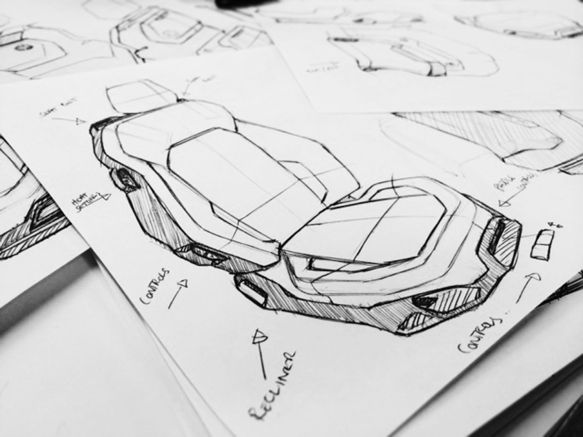 Idv Design On Twitter Seat Design Sketching And Ideation Learn